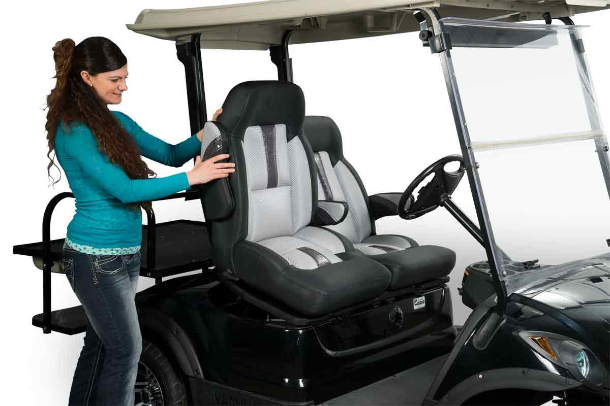 Texas Sportster High Back Bucket El Tigre Custom Golf Cart Seats Golf Cart Seats