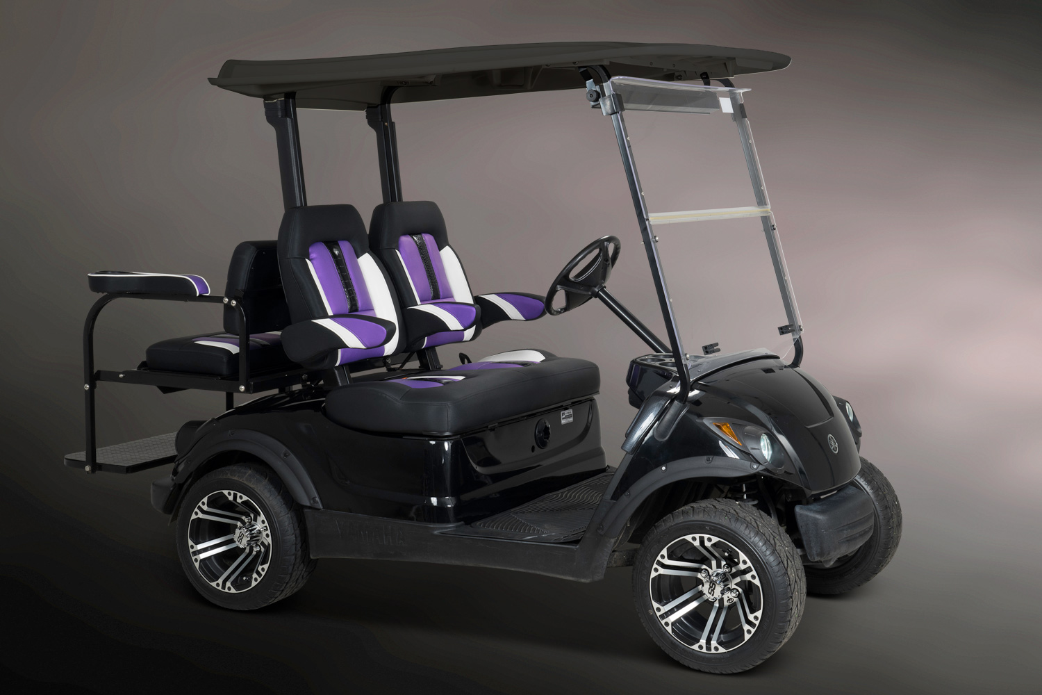 Golf Cart Seats : Texas highback sportster golf seat with arms el tigre