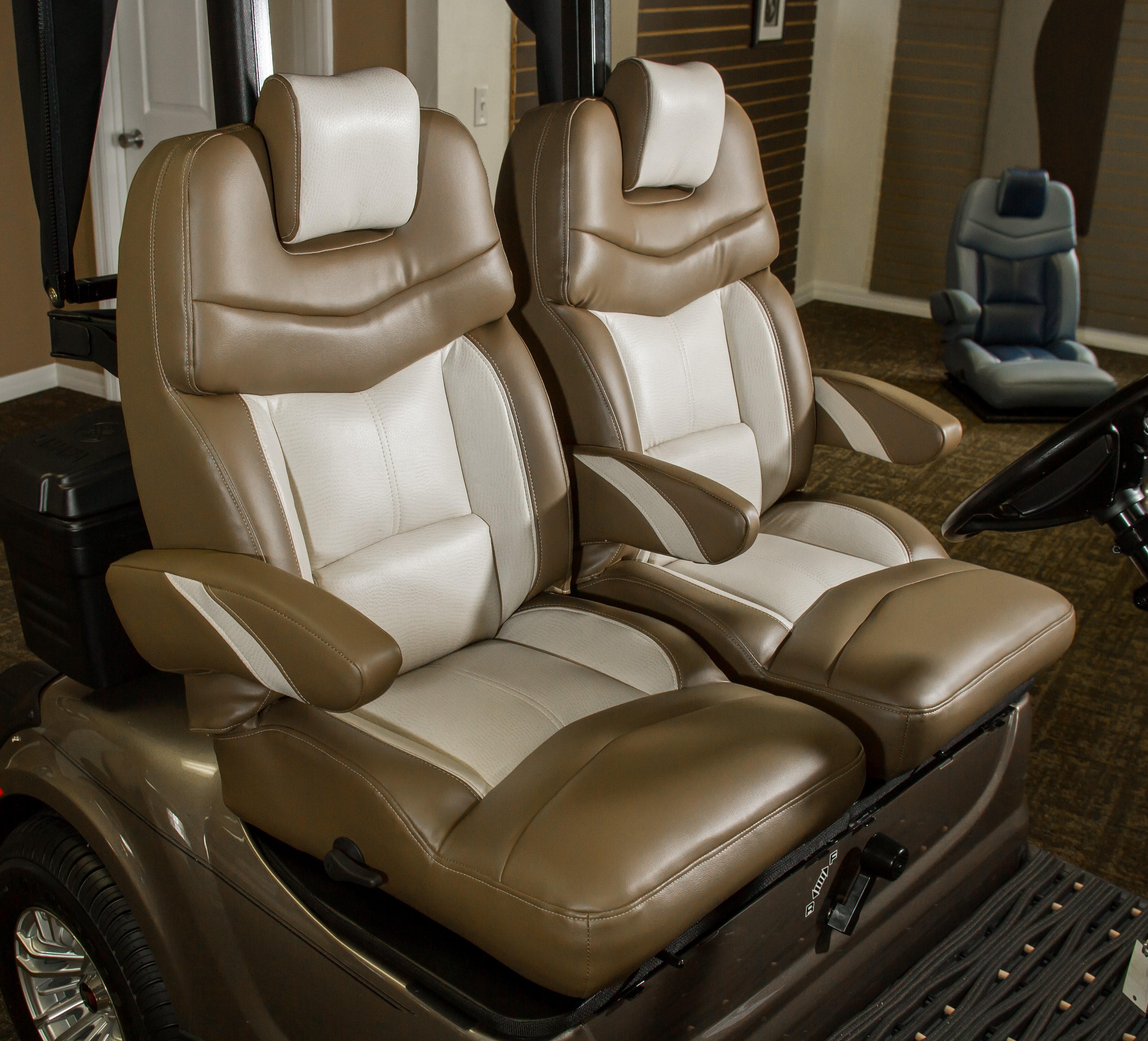 Panther Bucket Seat El Tigre Custom Golf Cart Seats Golf Cart Seats
